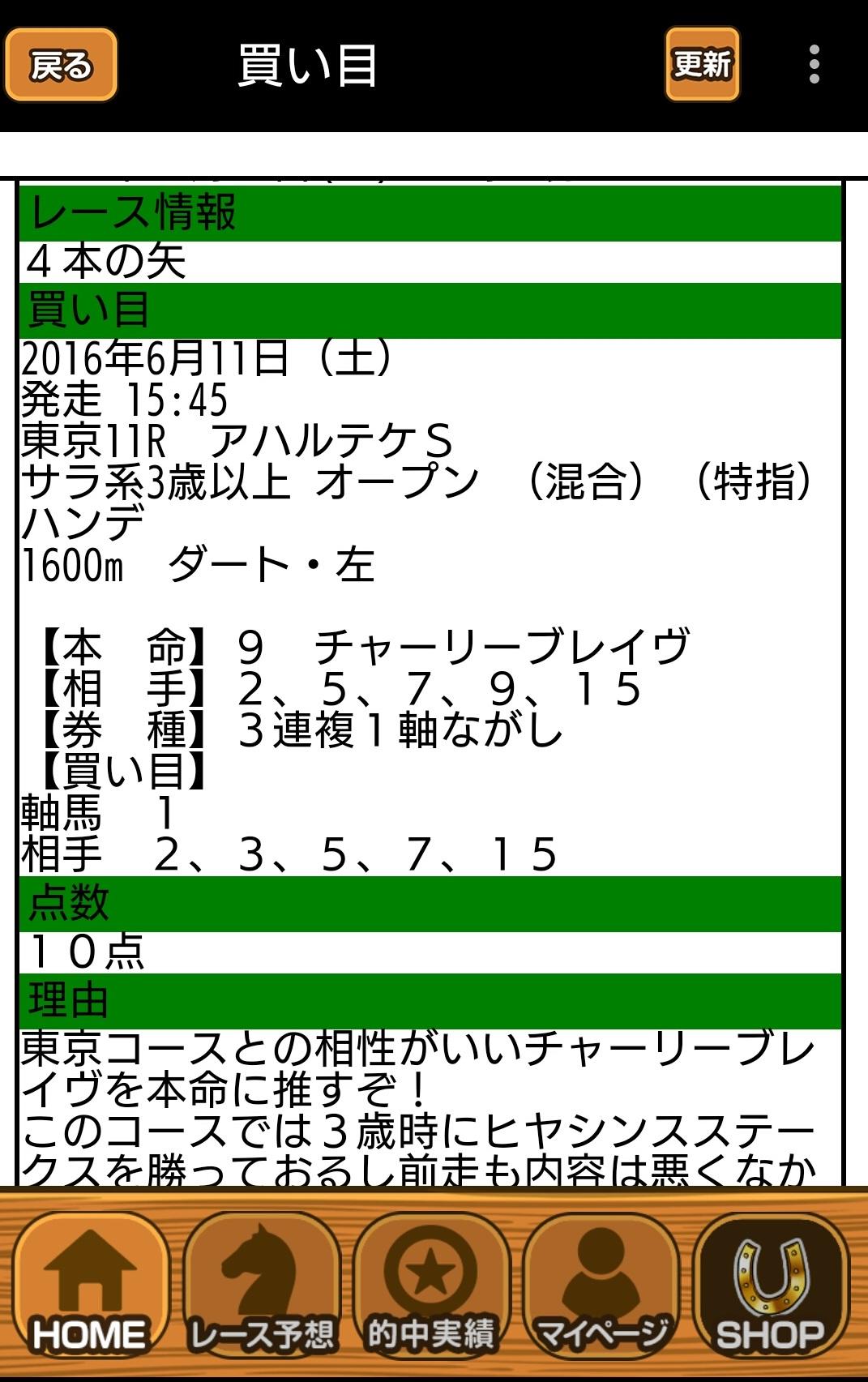 東京11R 馬仙人