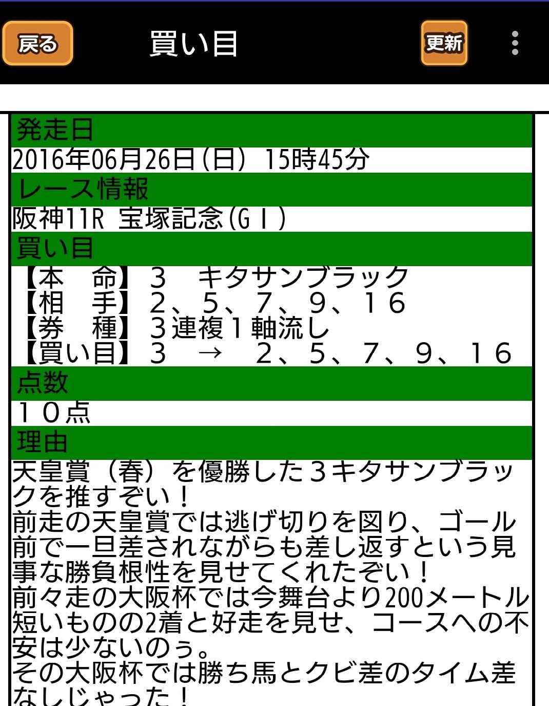 阪神11R 宝塚記念(GI)